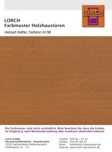Holzart Kiefer KI 08