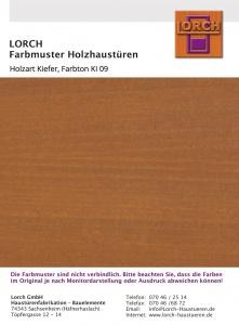 Holzart Kiefer KI 09