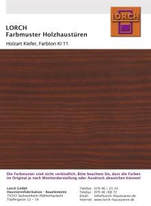 Holzart Kiefer KI 11