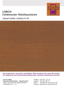 Holzart Kiefer KI 24