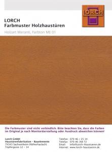 Holzart Meranti ME 01