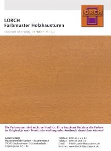Holzart Meranti ME 02