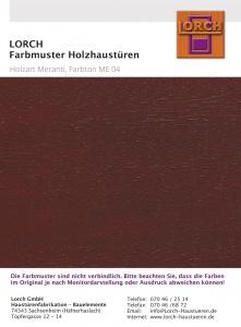 Holzart Meranti ME 04